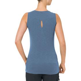 VAUDE Skomer T-shirt zippé Femme, tempest